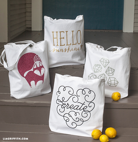 DIY tote bags for summer