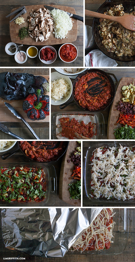 How to Make Vegetable Lasagna Step by Step