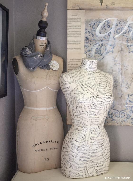 Decorated Mannequin