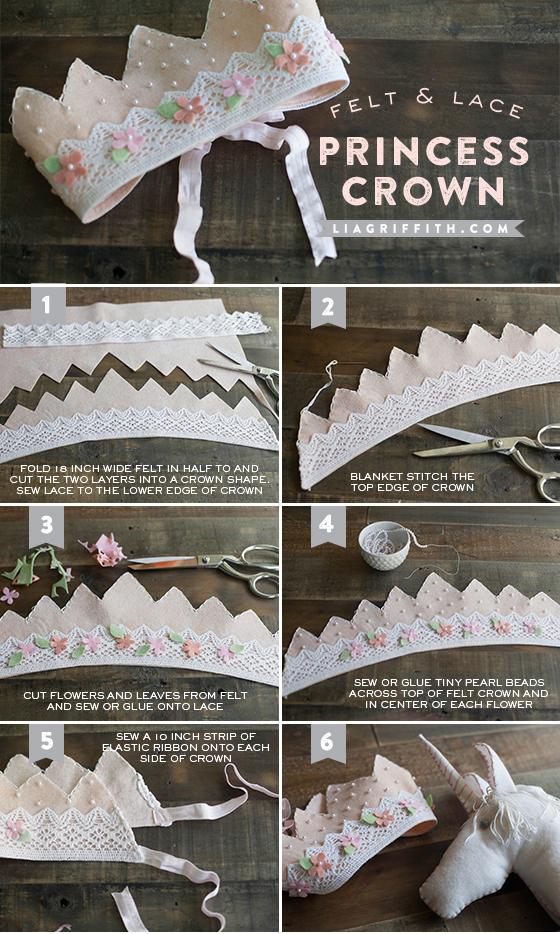 DIY Princess Crown Tutorial
