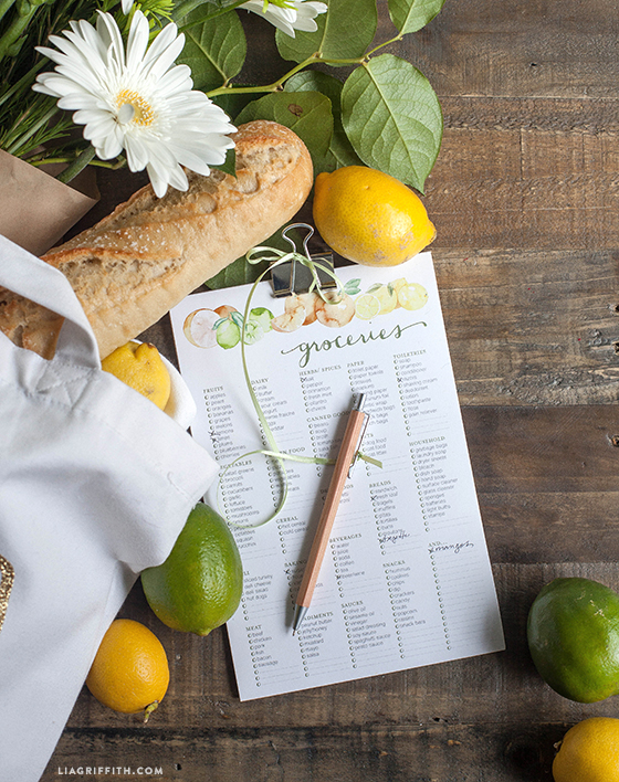 Citrus_Design_Grocery_List_Printable