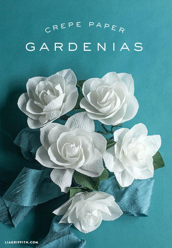 DIY_Crepe_Paper_Gardenia