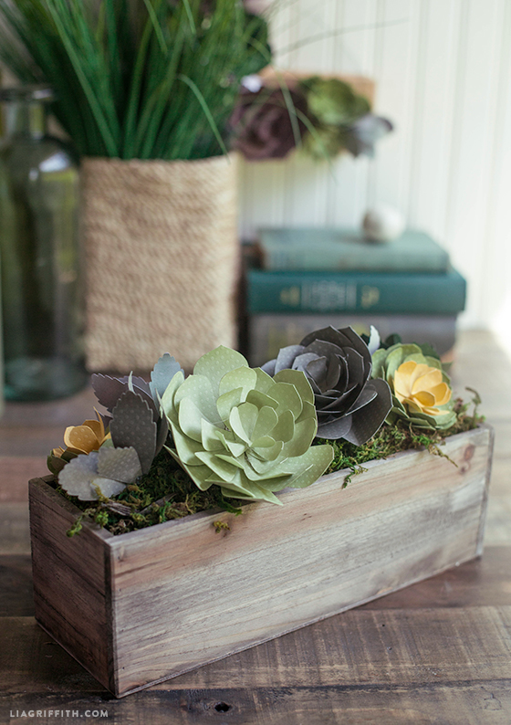 DIY_Paper_Succulent_Arrangement