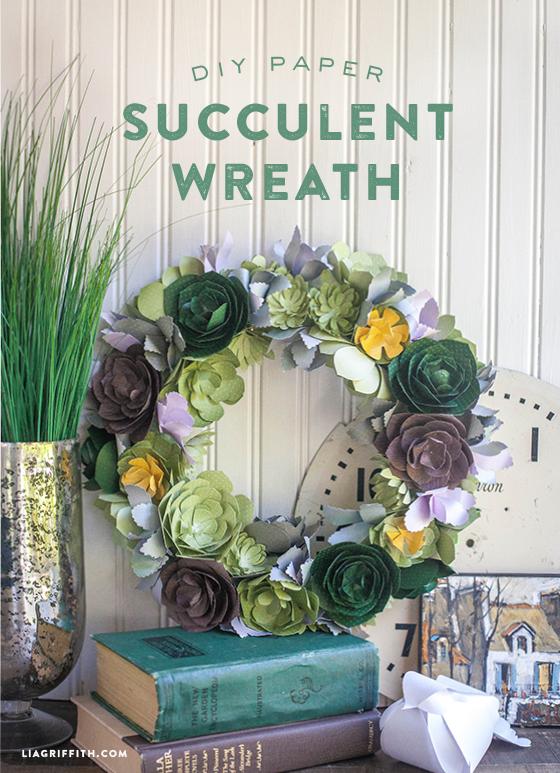 DIY_Paper_Succulent_Wreath