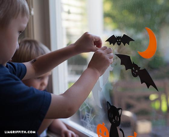 Halloween_Window_Clings_Children