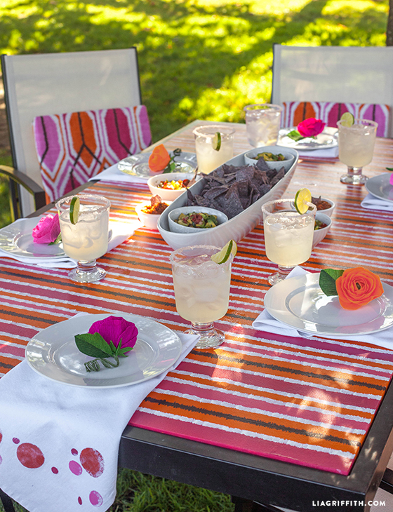 Ikat_Table_Top_Mexican_Dinner