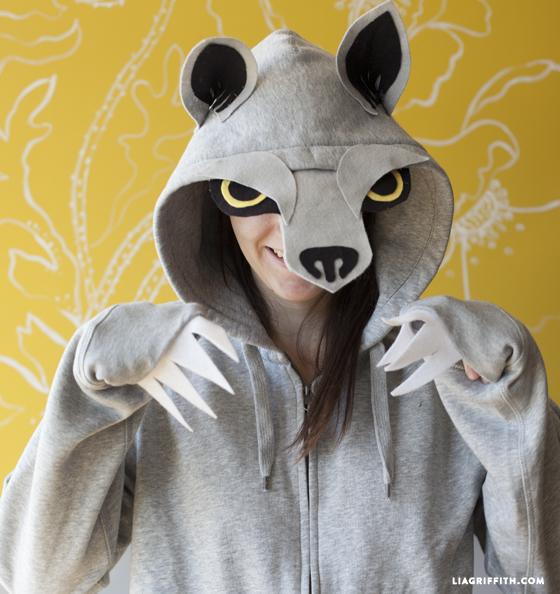 No_Sew_Wolf_Hoodie_Costume