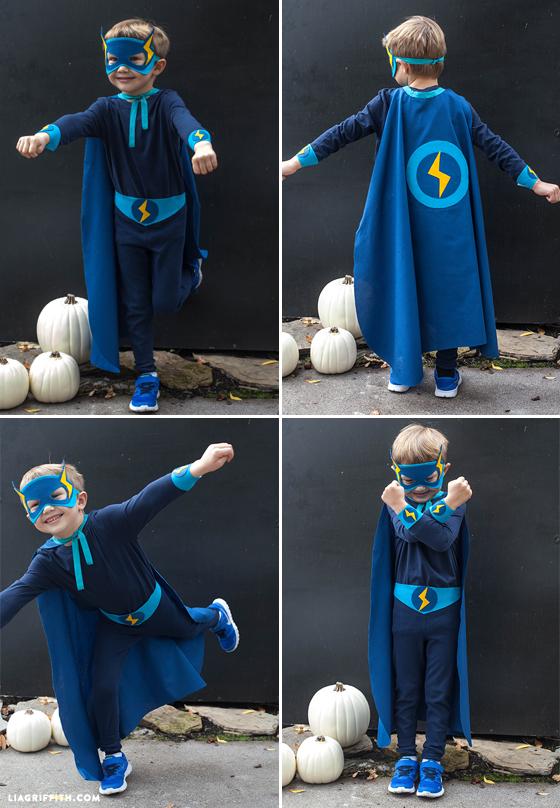 Superboy_Lightning_DIY_Coastume