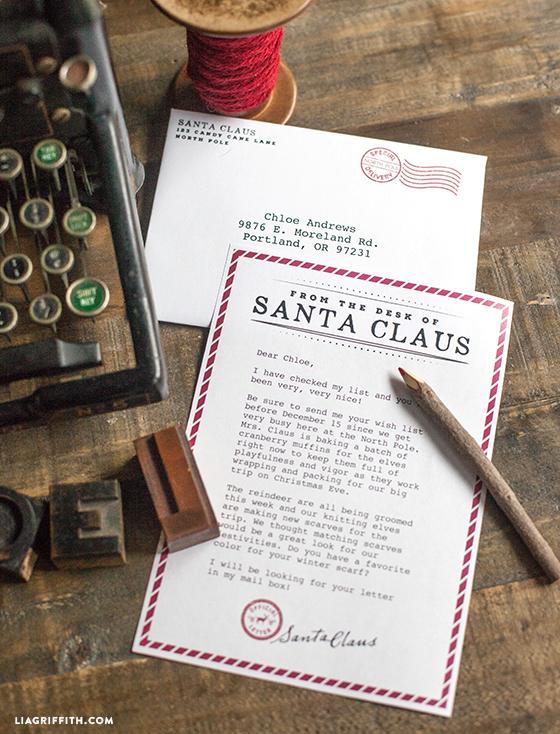 Letter_From_Santa_Printable
