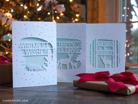 Holiday_Woodland_DIY_Cards