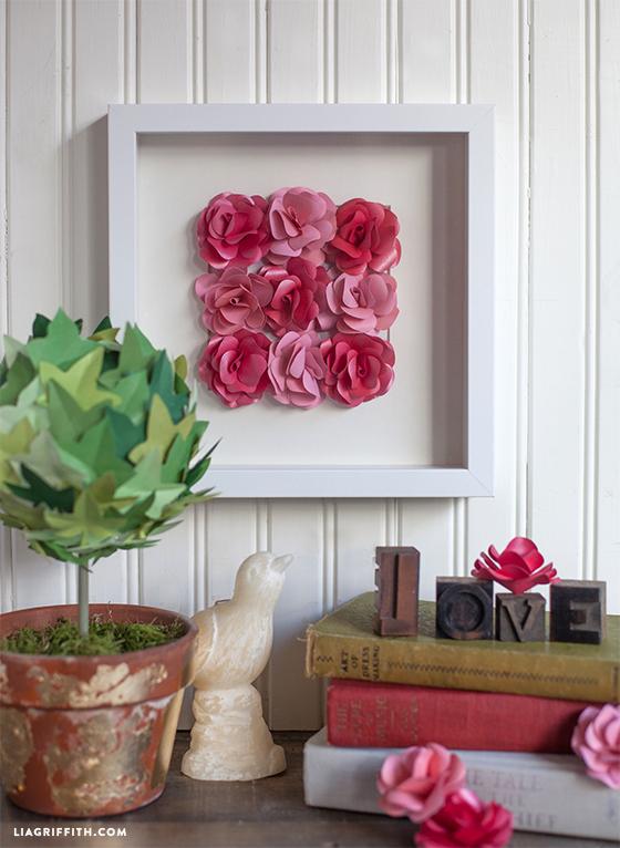 DIY_Paper_Art_Roses