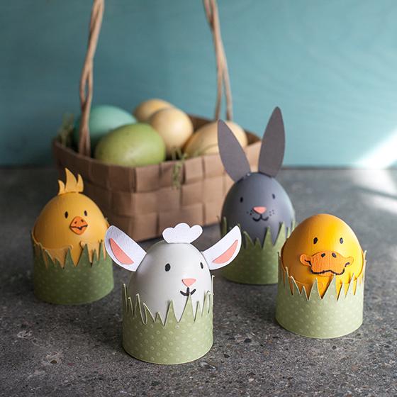 Kids Easter Egg decorations