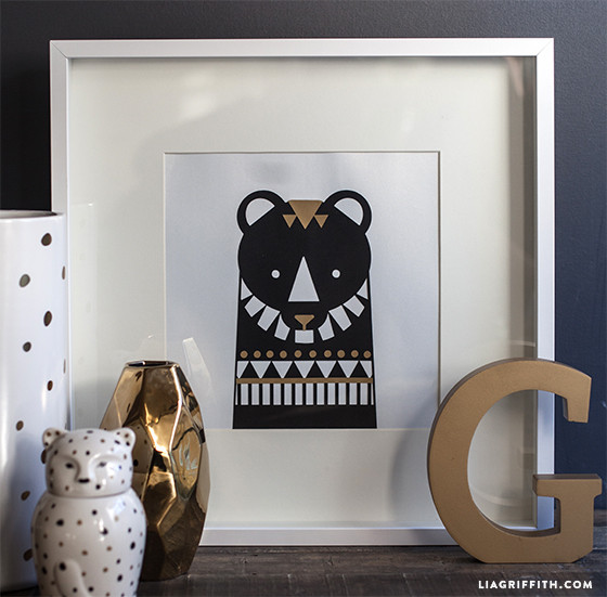 DIY_Bear_Wall_Art