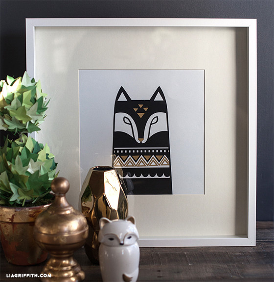 DIY_Fox_Wall_Art