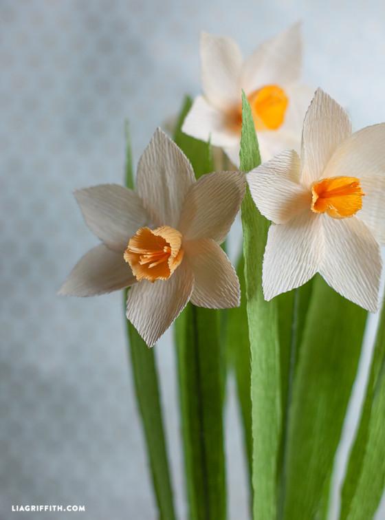 Daffodils_DIY_Crepe_Paper