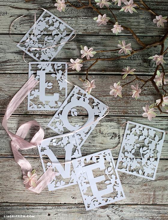 Wedding_Banner_LOVE_Papercut