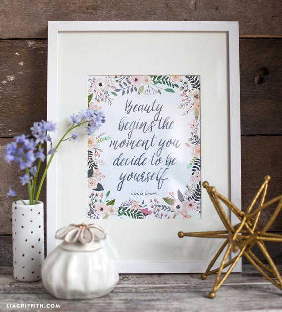 Beauty_Quote_Printable