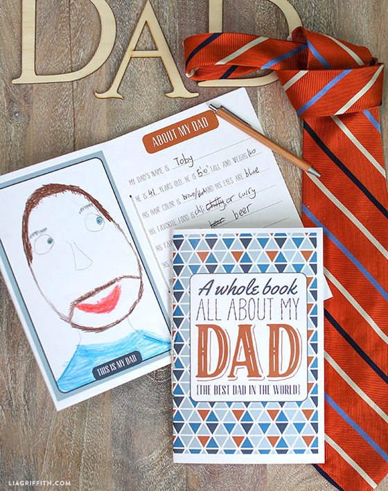 Printable_Fathers_Day_Book_Kids