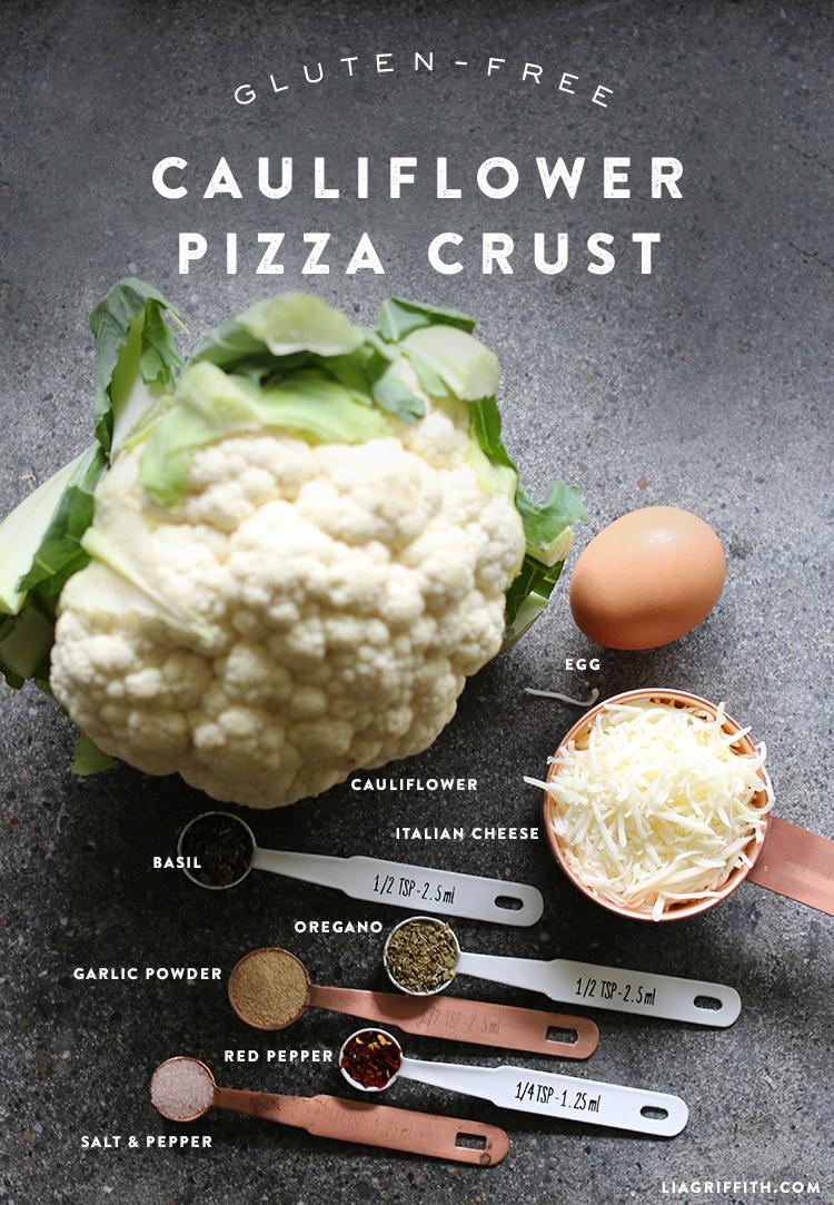 cauliflower pizza crust ingredients