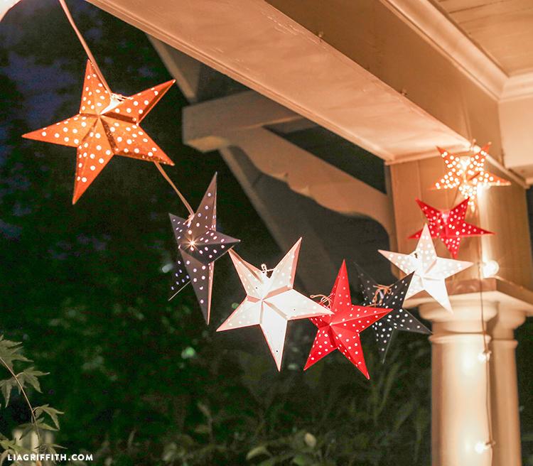 DIY Lantern Stars
