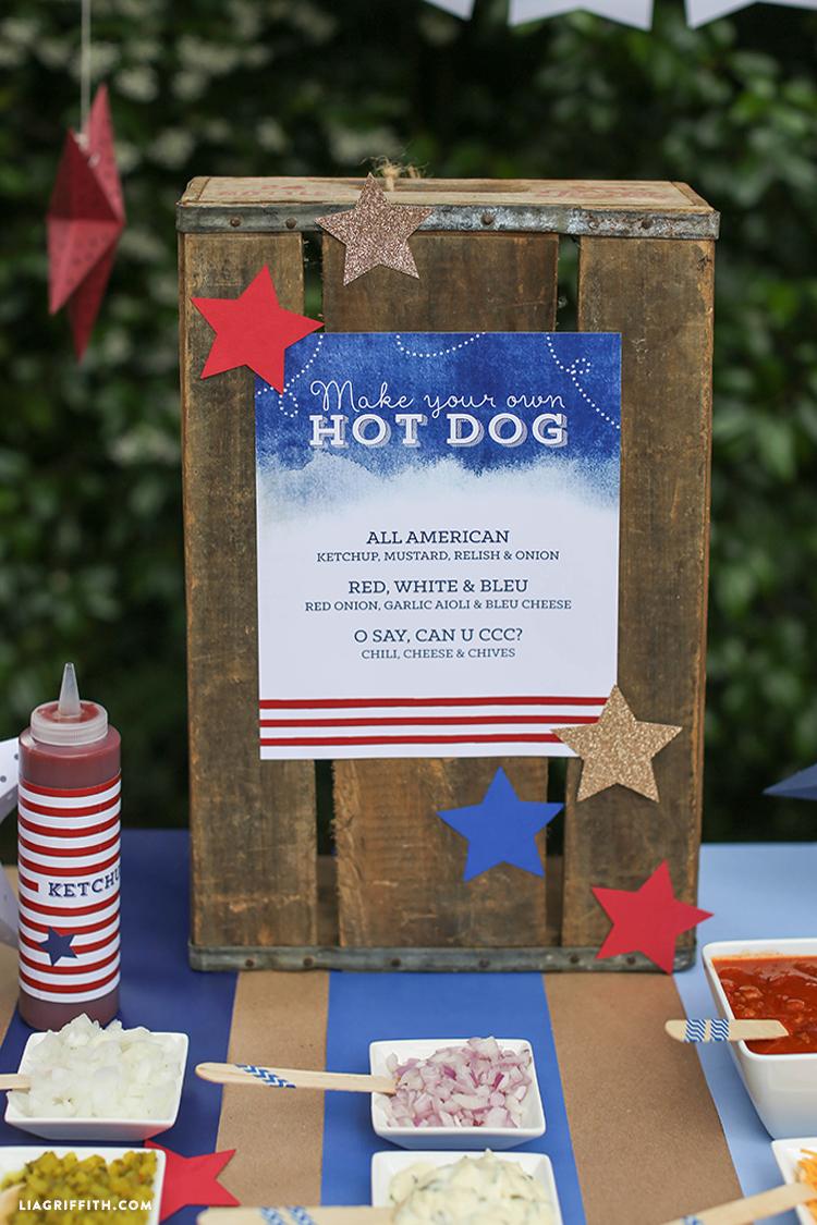 Signage_Hotdog_Stand_Bar_Fourth_July