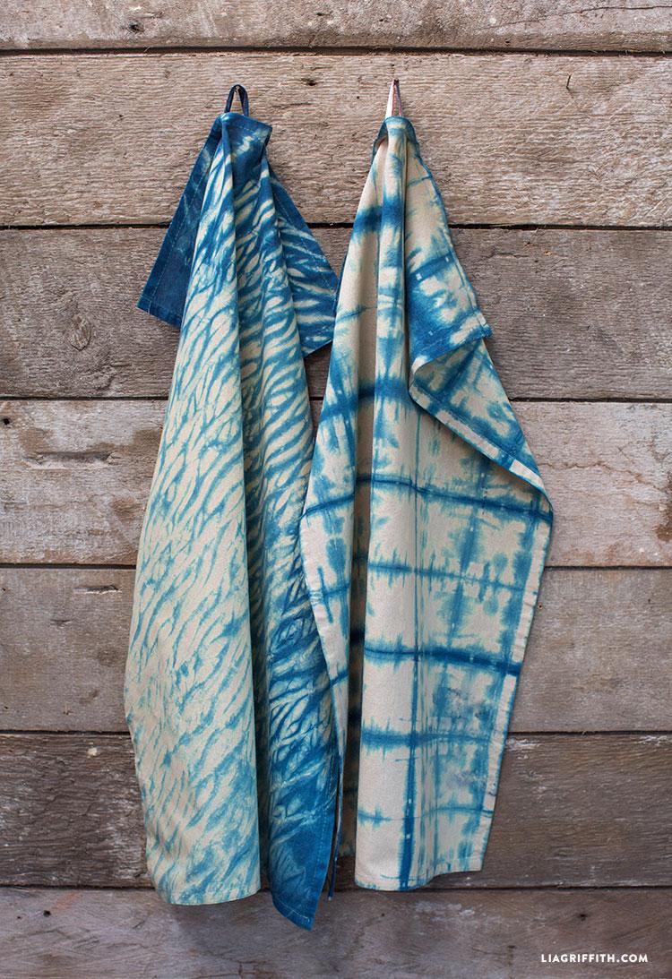 Indigo_Hand_Dyed_Shibori_Tea_Towels_Kitchen