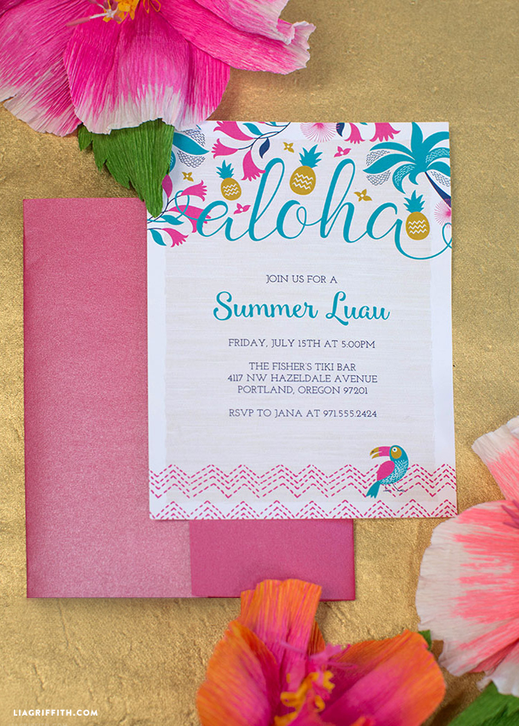 Invitation_Party_Luau_Brights