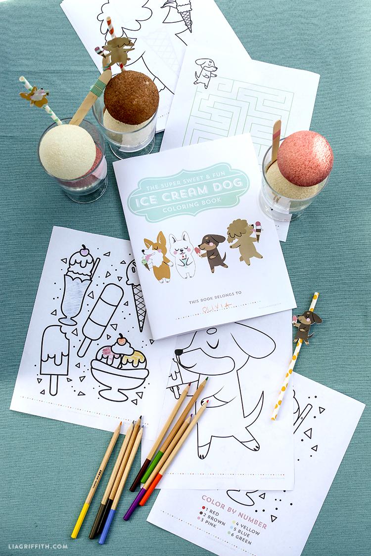 Printable_Coloring_Book_Ice_Cream