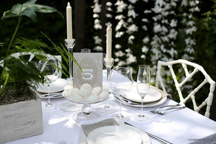 Wedding_Table_Number_Kraft