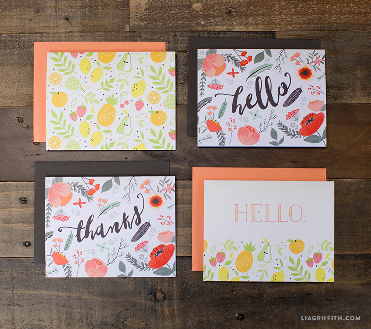 Note_Cards_Fruit_Flowers