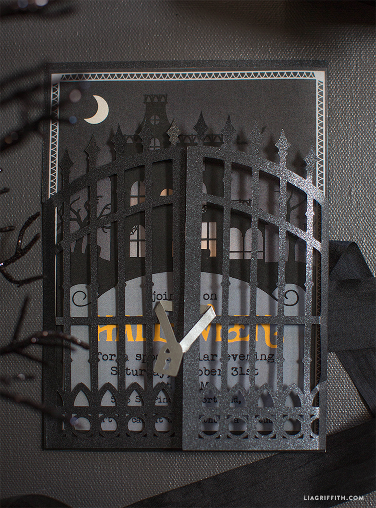 Halloween_Party_Invite_Gate_Papercut