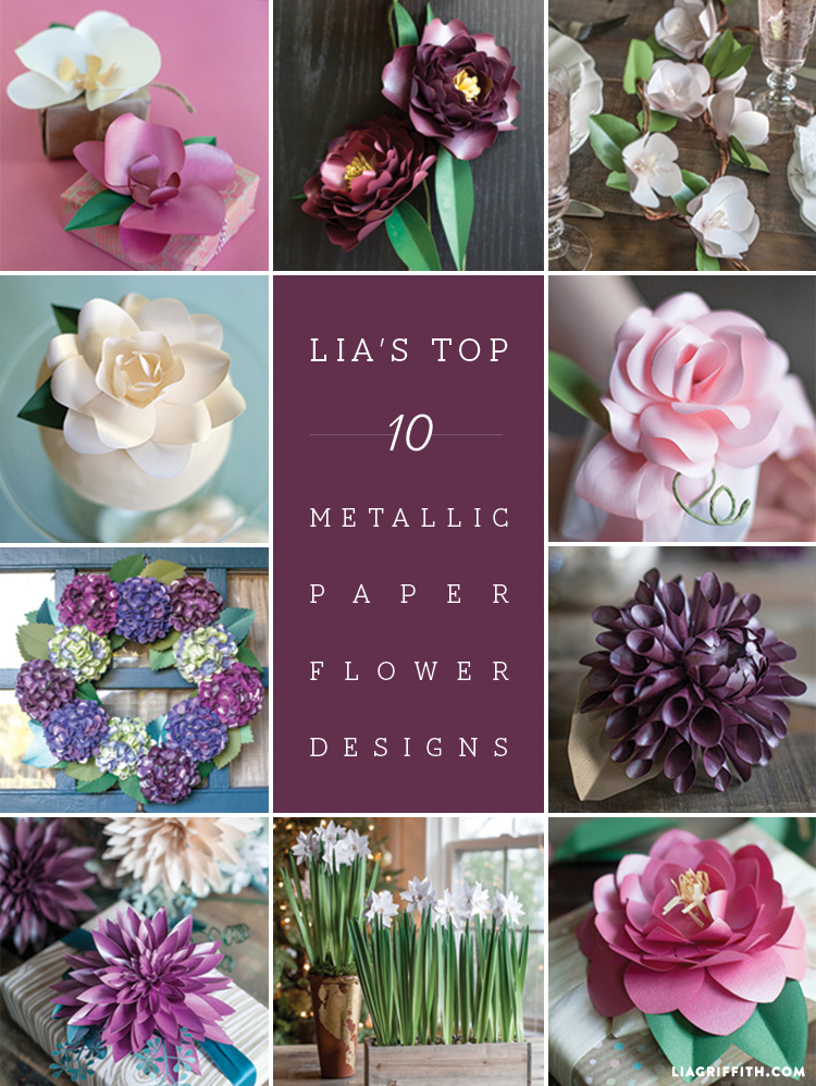 Lias_Top_10_metallic_paper_flowers