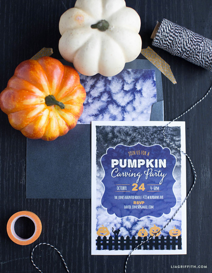 Pumpkin_Invitation_Carving_Party