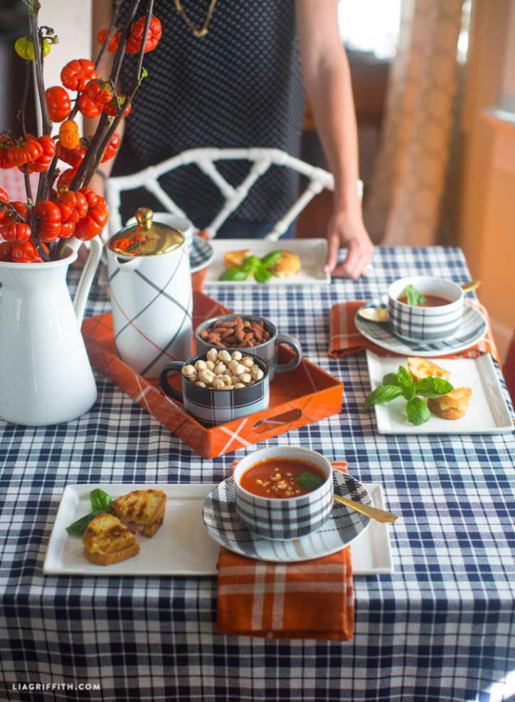 Target_Plaid_Styled_Fall_Table_Soup_Mugs