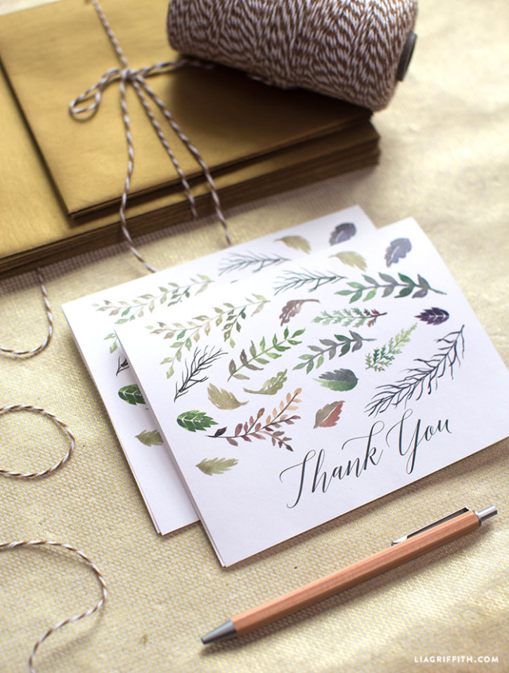 Thank_You_Card_Watercolor_Leaves_Fall