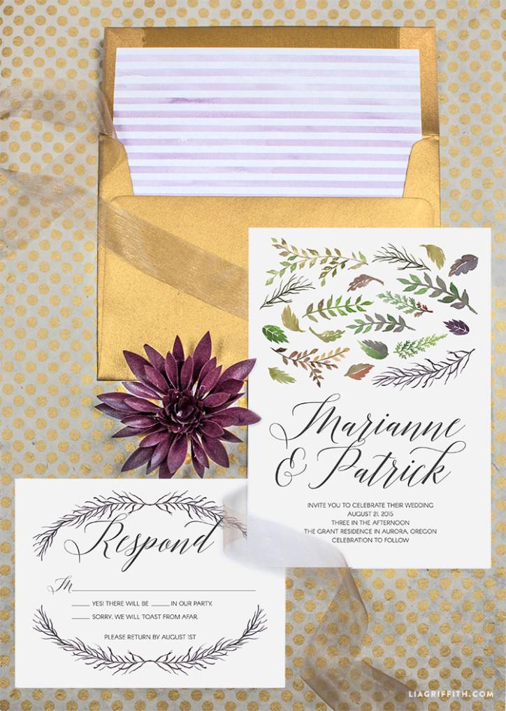 Wedding_Invitation_Fall_Watercolor_Suite_Designer_Font