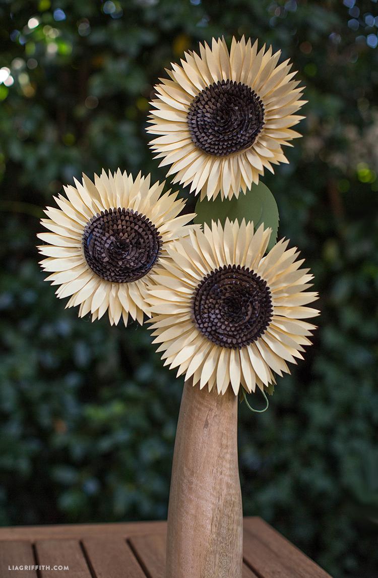 DIY_Paper_Sunflower