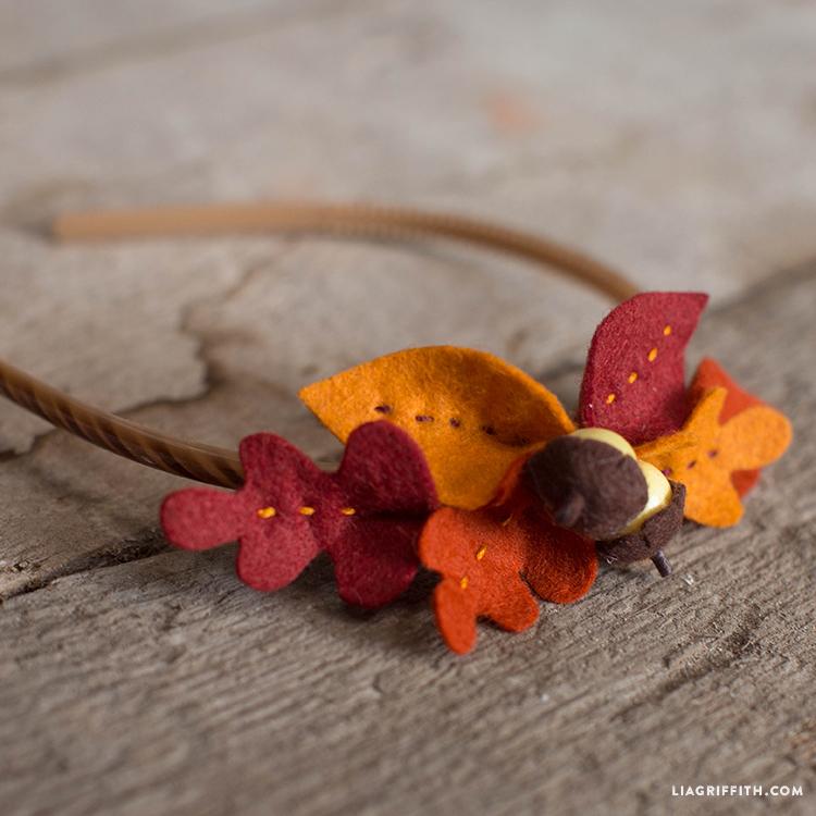 Baby Fall Foliage Headband