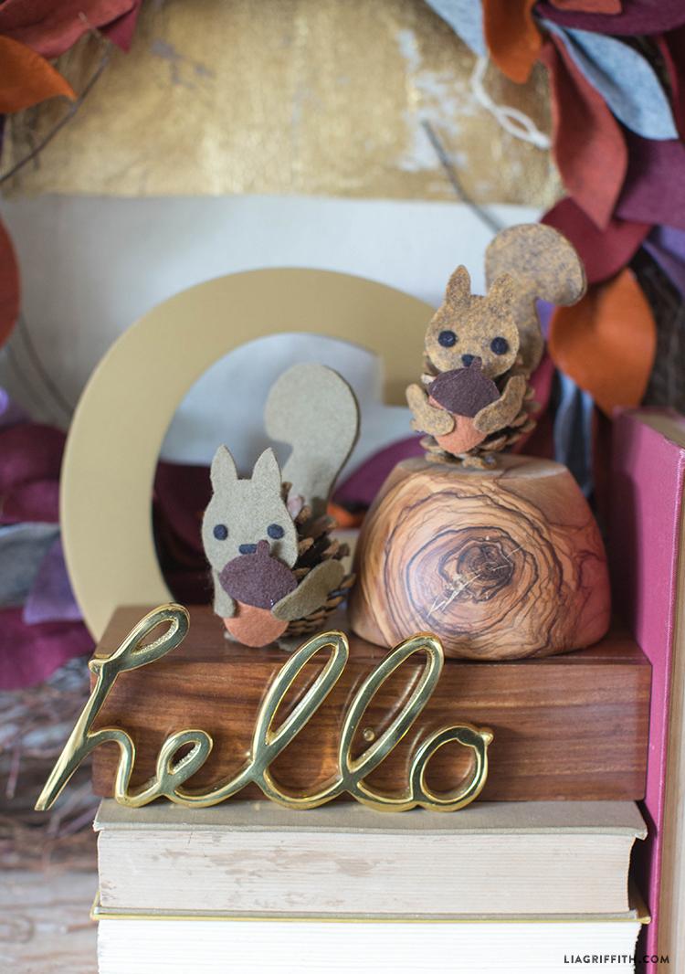 Felt_Pinecone_Squirrel_Mama_Baby