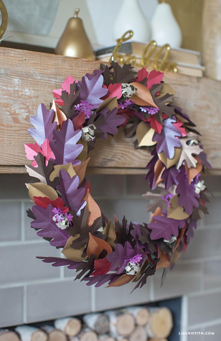 Paper_Leaf_Wreath_Fall