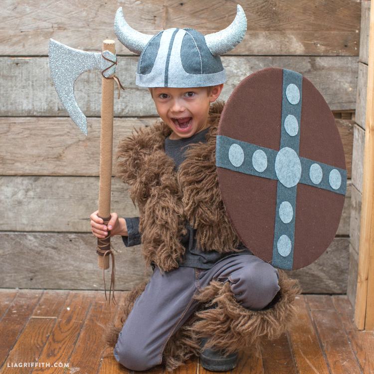 Accessories For Diy Kid S Viking Costume Lia Griffith