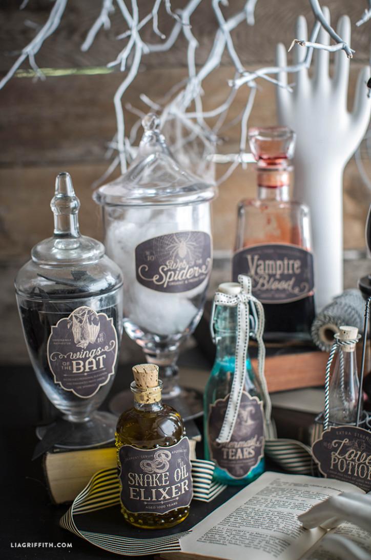 Vintage_Halloween_Apothecary_Jar_Labels