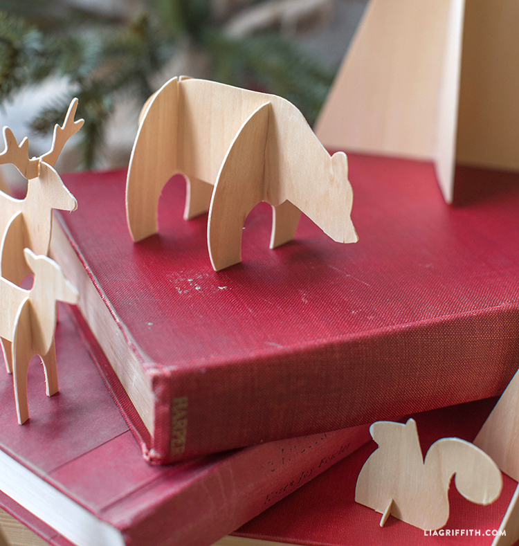 Diy Birch Wood Animals Lia Griffith