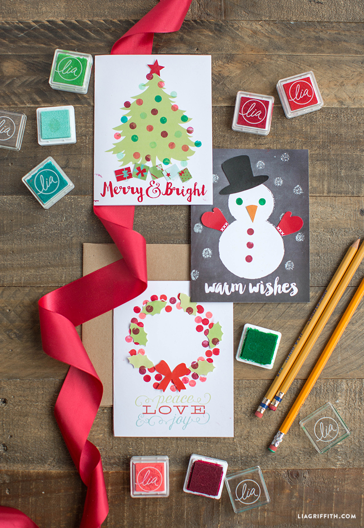 Kids_Stamped_Holiday_Card_Craft