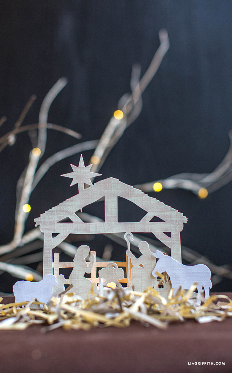 PaperCut Nativity Scene