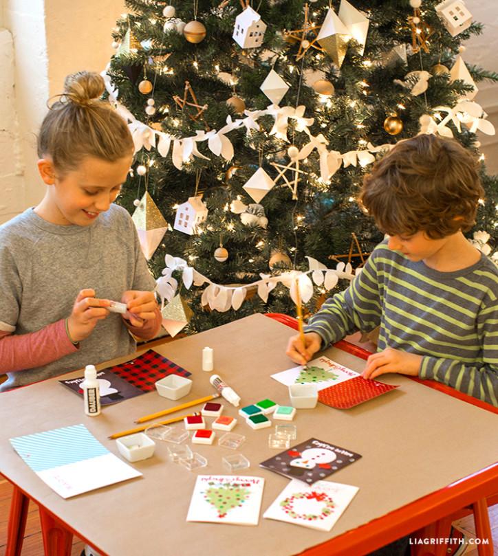 Kid's Holiday Craft