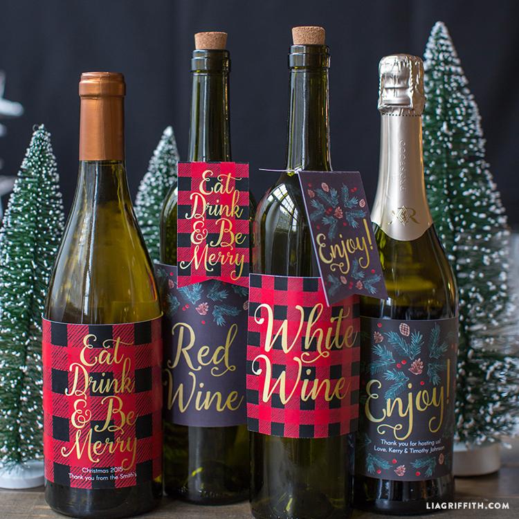 Christmas_Wine_Labels_Plaid_Gift_TN