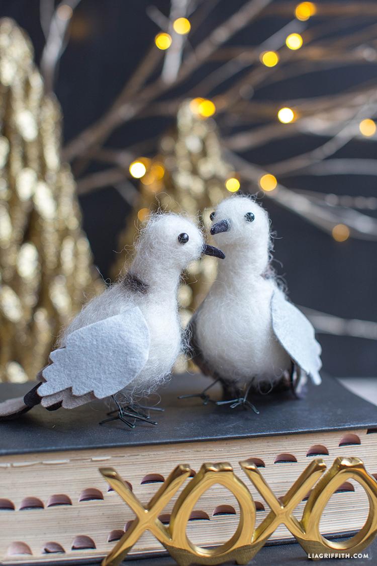 Felted_Wool_Christmas_Turtledoves