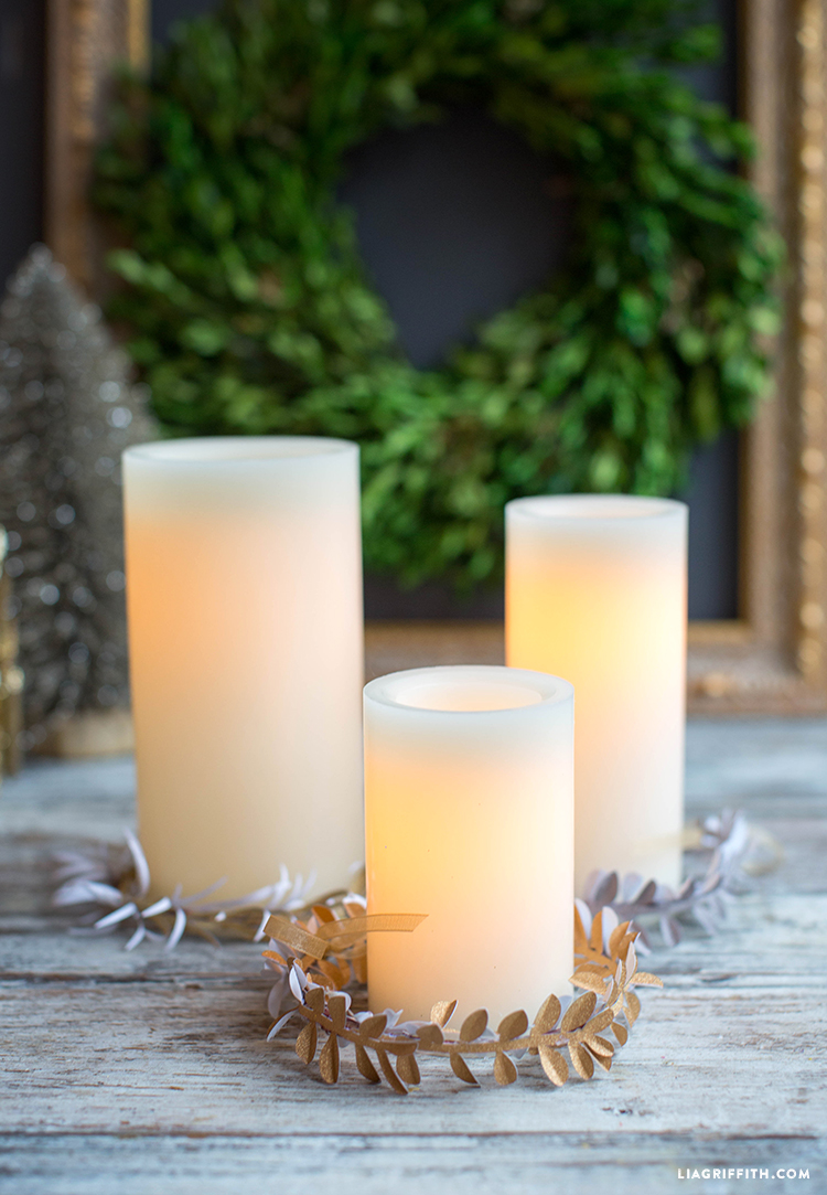 Glitter_Candle_Wreaths