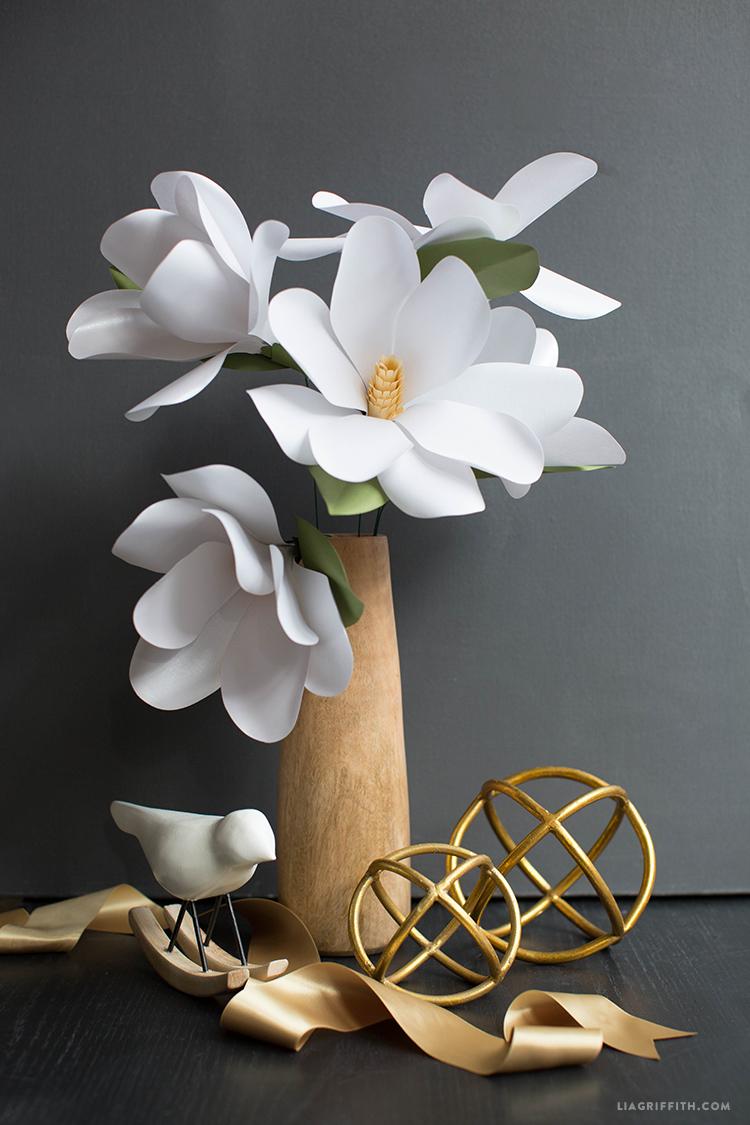 Paper Magnolia Flower Lia Griffith